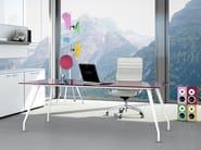 Rectangular workstation desk KINESIS | Office desk - Arcadia Componibili - Gruppo Penta