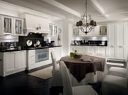 Wooden fitted kitchen with handles CLASSIC MELODY | Kitchen - Callesella Arredamenti S.r.l.