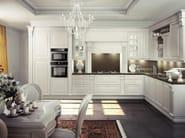 Lacquered wooden fitted kitchen MICHELANGELO | Kitchen - Oikos Cucine
