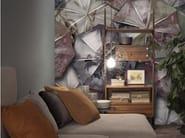 Motif panoramic wallpaper KOAN - Inkiostro Bianco