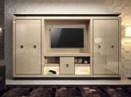 Solid wood TV wall system KOKKO LUX - Capital Collection by Atmosphera