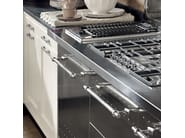 Fitted wood kitchen KREOLA - COMPOSITION 03 - Marchi Cucine