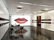 Glass partition wall KRISTAL 5 - Arcadia Componibili - Gruppo Penta