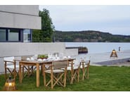 Sedia pieghevole con braccioli KRYSS DINING | Sedia - Skargaarden