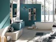 Oak bathroom cabinet / vanity unit LA FENICE - COMPOSIZIONE 21 - Arcom