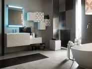 Bathroom cabinet / vanity unit LA FENICE DECOR - COMPOSIZION 25 - Arcom