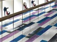 Wall tiles / flooring LACCHE FLOWER BLU - CERAMICHE BRENNERO