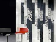 Wall/floor tiles LACCHE FLOWER NERO - CERAMICHE BRENNERO