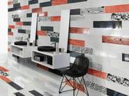 Wall/floor tiles with wood effect LACCHE LEGNI ROSSO - CERAMICHE BRENNERO