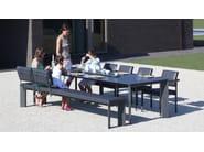 Rectangular Xeramica garden table LARGO | Table - Joli