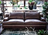 2 seater leather sofa MALTA | Leather sofa - Arketipo