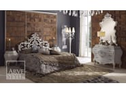 Lacquered solid wood double bed LETIZIA | Bed - Arvestyle