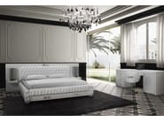 Leather double bed with tufted headboard LEXINGHTON | Bed - Formitalia Group