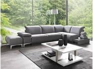 Corner upholstered fabric sofa LIBERTA | Corner sofa - GAUTIER FRANCE