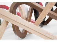 Wooden coffee table LIBRA | Wooden coffee table - KUBIKOFF
