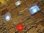 Illuminazione da incasso a pavimento per spazi pubblici LIGHT STONE CRISTAL - Top Light