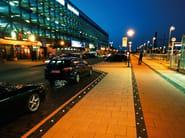 Illuminazione da incasso a LED a pavimento per spazi pubblici LIGHT STONE LICHTPUNKT - Top Light
