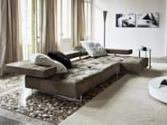 Sectional leather sofa LOFT | Sectional sofa - Arketipo