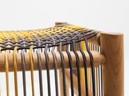 Low oak stool LOOM BY PTOLEMY MANN | Low stool - H Furniture