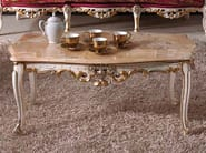 Low marble coffee table BAROQUE | Low coffee table - Arvestyle