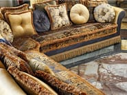 Classic style corner fabric sofa LUDOVICA | Corner sofa - Domingo Salotti