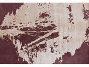 Handmade rectangular rug LUGANO SPICY - EDITION BOUGAINVILLE