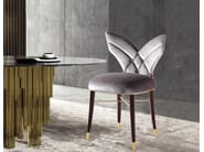 Upholstered fabric chair LUNA | Chair - Ottiu