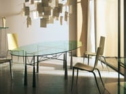 Glass table LYBRA - Driade