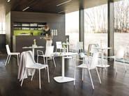 Stackable polypropylene restaurant chair MACAO | Stackable chair - Wiesner-Hager