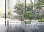Tavolo da pranzo ovale in legno MAEDA | Tavolo ovale - Punt