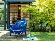 Polyethylene garden armchair with armrests MAGIS PROUST | Design garden armchair - Magis
