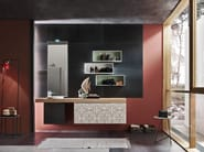 Bathroom cabinet / vanity unit MAGNETICA - COMPOSIZION 04 - Arcom