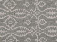 Jacquard cotton and wool fabric with graphic pattern MAHTMA - KOHRO