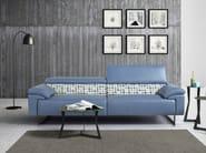 Sofa with headrest MALIKA | Sofa - Egoitaliano