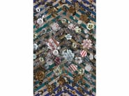 Rectangular fabric rug with floral pattern MALMAISON | Rectangular rug - Moooi©