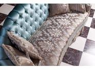 Tufted 3 seater sofa bed MALVINA CAPITONNÉ | 3 seater sofa - Domingo Salotti