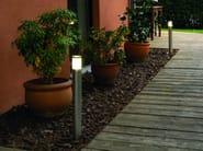 Stainless steel bollard light MANIX FL - BEL-LIGHTING