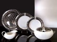 Set di piatti in porcellana MARGHERITA | Set di piatti - Formitalia Group