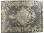 Patterned handmade rectangular rug MARIE ANTOINETTE AGATA - Golran