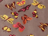 Handmade rectangular rug MARIPOSA - Deirdre Dyson