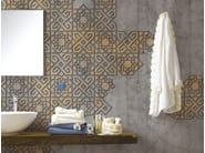Motif panoramic wallpaper MARRAKECH - Inkiostro Bianco