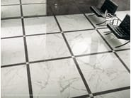 Porcelain stoneware flooring with marble effect MARVEL FLOOR | Porcelain stoneware flooring - Atlas Concorde