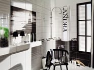 Indoor wall/floor tiles MAXIMA BLACK & WHITE - TUBADZIN