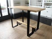 Wooden high table MAYET BAR - Alex de Rouvray design