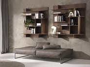 Wall-mounted sectional bookcase MAZE - Pacini & Cappellini