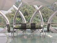 Poltrona ufficio direzionale girevole con schienale medio EM204 | Poltrona ufficio direzionale con schienale medio - Emmegi