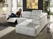 Sectional relaxing sofa MEGANE | Sectional sofa - Egoitaliano