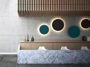 Felt decorative acoustical panels with Integrated Lighting MELODIA | Decorative acoustical panels - LvB Acoustics