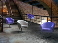 Swivel stool MELT STOOL   Stool - Domingo Salotti