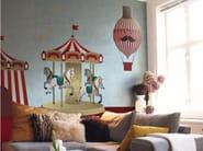 Panoramic wallpaper MERRY-GO! - Inkiostro Bianco
